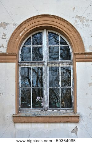 dilapidated windows
