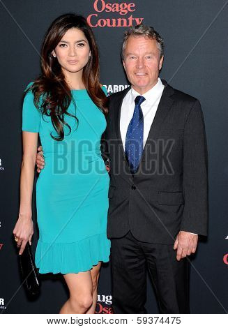 LOS ANGELES - DEC 16:  John Savage & Blanca Blanco arrives to the