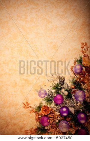 Vintage Christmas Decoration Series
