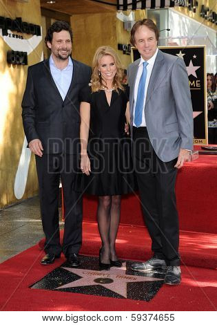 LOS ANGELES - JAN 29:  Jeremy Sisto, Cheryl Hines and Kevin Nealon Walk of Fame Honors Cheryl Hines  on January 29, 2014 in Hollywood, CA
