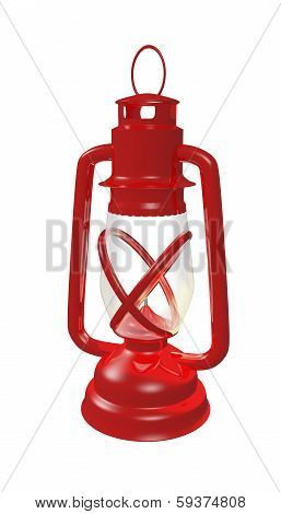 retro lantern