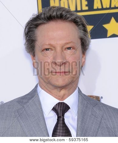 LOS ANGELES - JAN 16:  Chris Cooper arrives to the Critics' Choice Movie Awards 2014  on January 16, 2014 in Santa Monica, CA