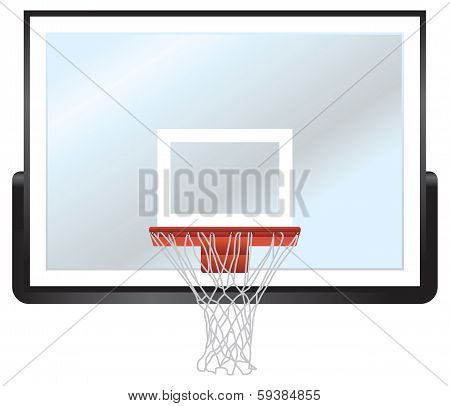 Basketball Rim And Backboard