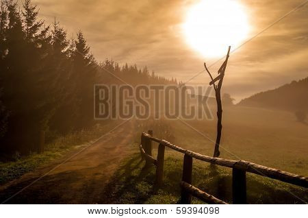 Morning Haze In Little Fatra Mountains