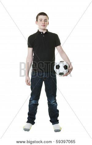 Thirteen Year Old Boy
