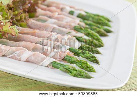 Prosciutto Wrapped Asparagus