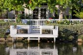 picture of beach-house  - House on a canal in Venice Beach California - JPG