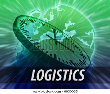 Europe Logistics Management Concept