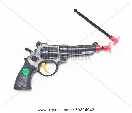 Dart Gun With Two Darts.