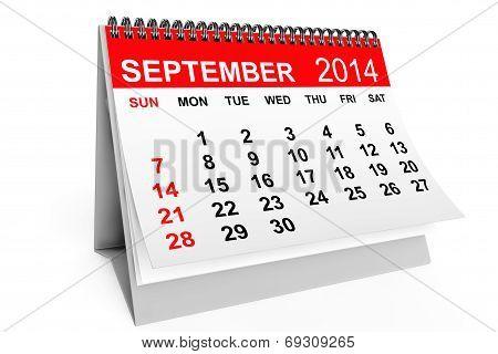 Calendar September 2014