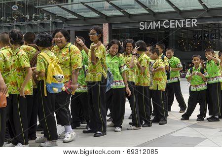 Thai Student at Siam Center