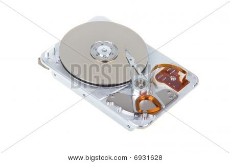 Open Hard Disk Drive Isolated