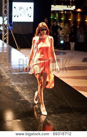 Fashion Show For Nancy Naguib Model 04 (on Runway)