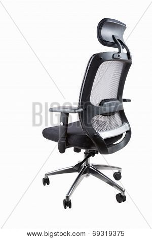 Comfortable Office Swivel Chair Isolated