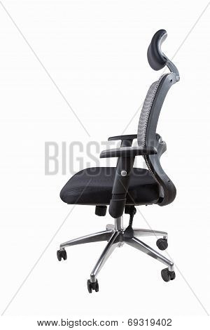 Ergonomic Office Swivel Chair Isolated