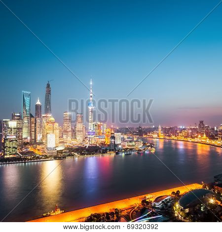 Beautiful Shanghai At Night