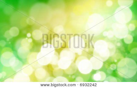 grüne bokeh
