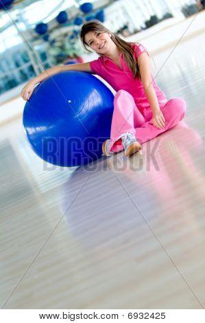 Gym Female Portrait