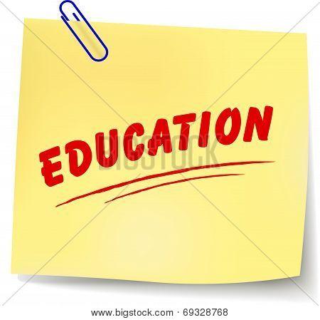 Vector Education Message