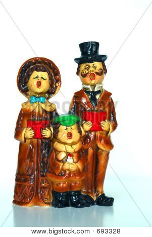 Antique Christmas Carolers