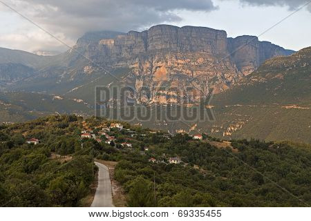 Zagora area at Pindos mountains, Greece