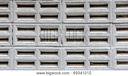 Close Up Aerated Concrete Wall Texture