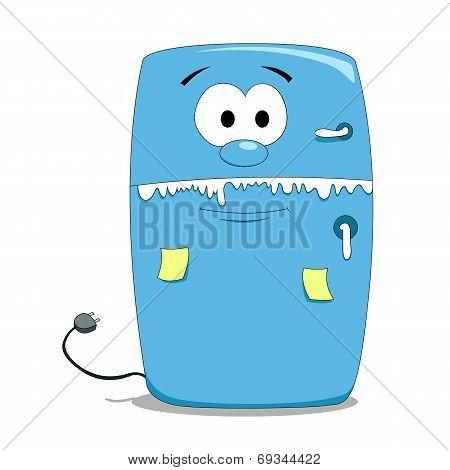 Cartoon fridge