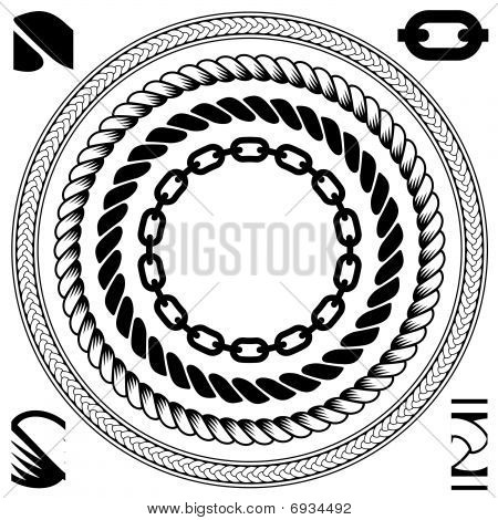 Cable & chain pattern