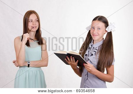 The Teacher Looks At The Prospective Student