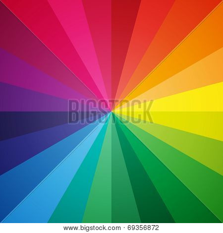 Vector Color Spectrum Background