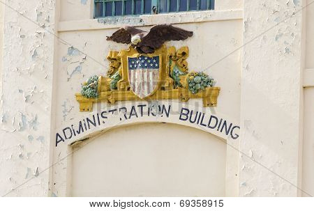 Alcatraz Administration Building, San Francisco, California
