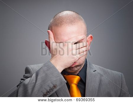 Businessman Overwhelmed