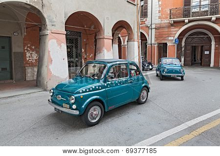 Vintage Car Fiat 500