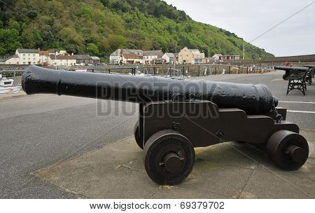 Canons, Minehead Old Harbour