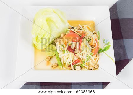 Papaya Salad, Thai Call