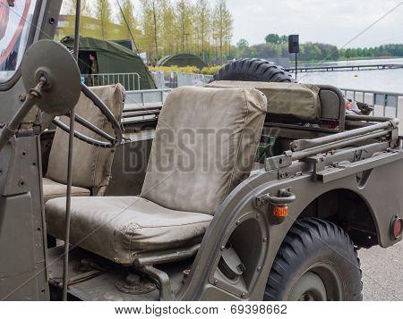 Vintage Military Jeep