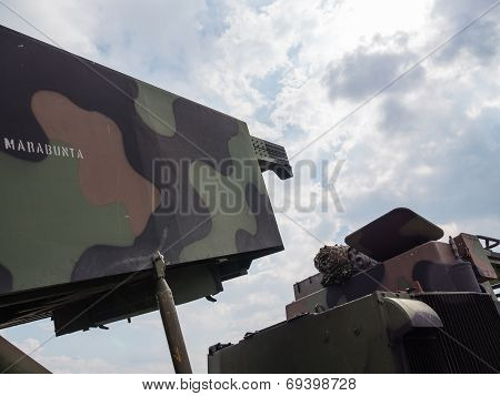 Dutch military armored fighting vehicle
