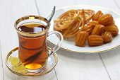 picture of iranian  - iranian tea and sweets - JPG