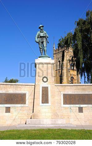 Evesham War Memorial.