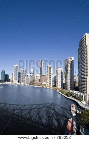 portrait of city skyline