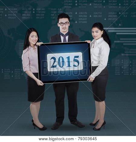 Teamwork Holding Number 2015 With Financial Background