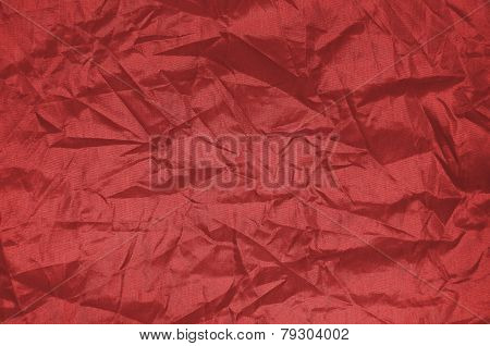 Brownish red wrinkle Nylon Sheet Texture