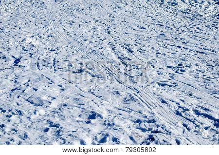 Snow Tire Track