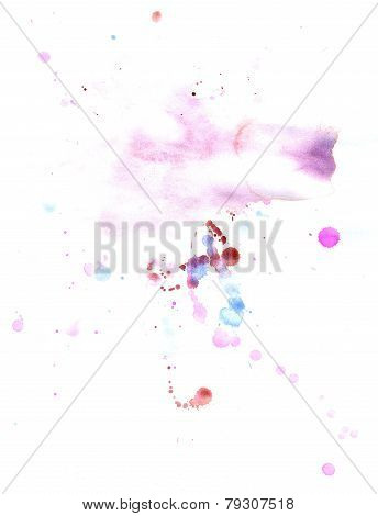Pink Splatters