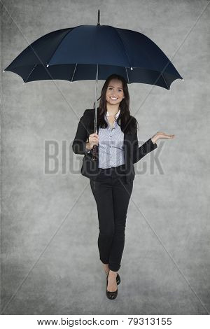 Smiling Business Woman Can Be Your Insurance Agent