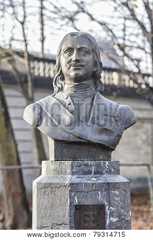 The Monument Of Peter The Great In Brussels