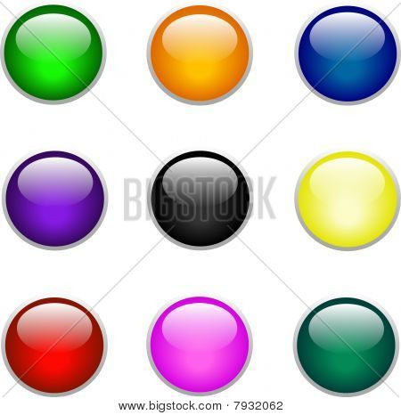 shinny button collection