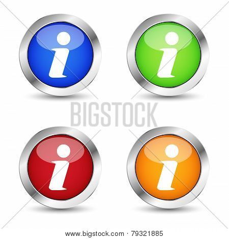 Info Web Button Set