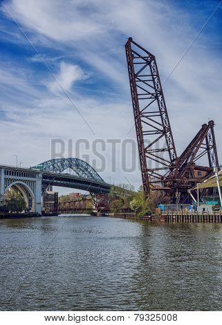Three Bridges On The Cuyahoga