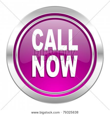 call now violet icon